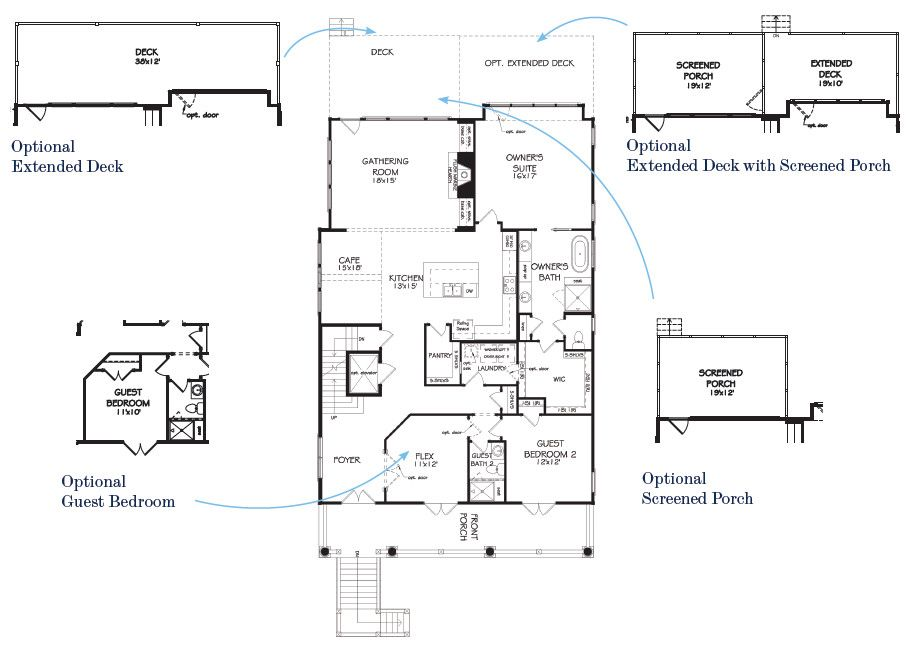 John wieland homes daniel island the faulkner elevated for John wieland homes floor plans