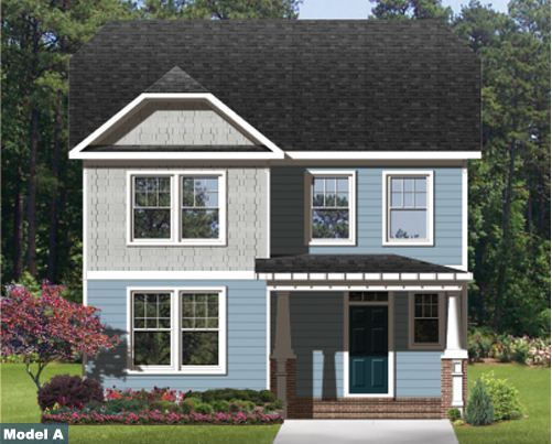 Single Family for Sale at New Port At Victory - The Grayson 256 Harmony Dr Portsmouth, Virginia 23701 United States