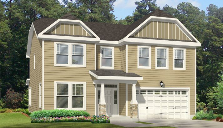 Single Family for Sale at Olahs Landing At Great Bridge - The Marielle 1101 Johnstown Rd Chesapeake, Virginia 23322 United States