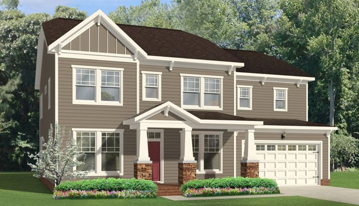 Single Family for Sale at Olahs Landing At Great Bridge - The Roseleigh 1101 Johnstown Rd Chesapeake, Virginia 23322 United States
