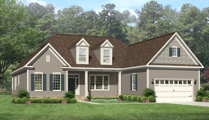 Single Family for Sale at Olahs Landing At Great Bridge - The Gardenia - Ranch 1101 Johnstown Rd Chesapeake, Virginia 23322 United States