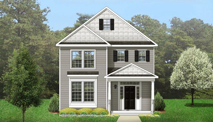 Single Family for Sale at New Port At Victory - The Monterey 256 Harmony Dr Portsmouth, Virginia 23701 United States