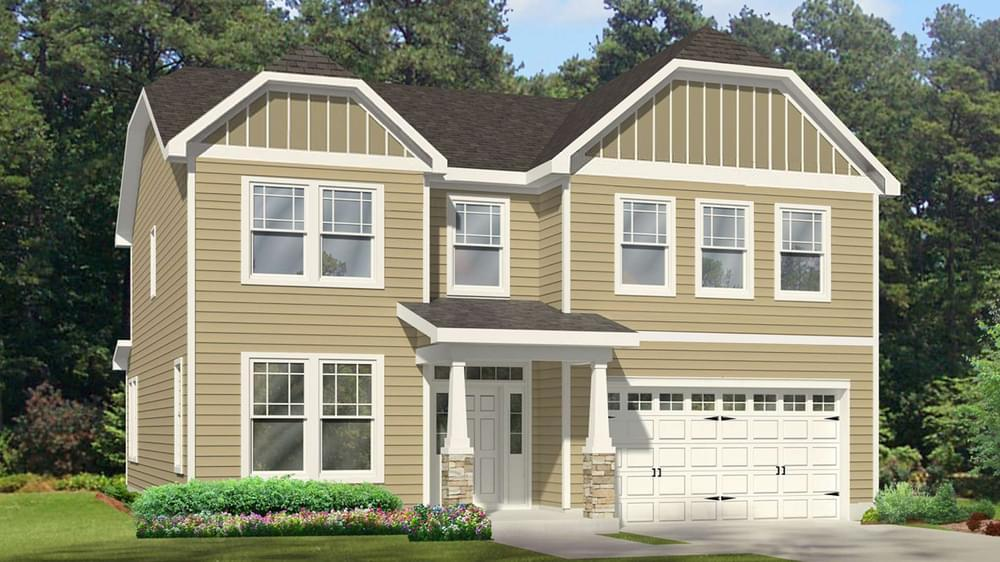 Single Family for Active at Highgate - The Concerto Basement 250 Covered Bridge Rd Clayton, North Carolina 27520 United States