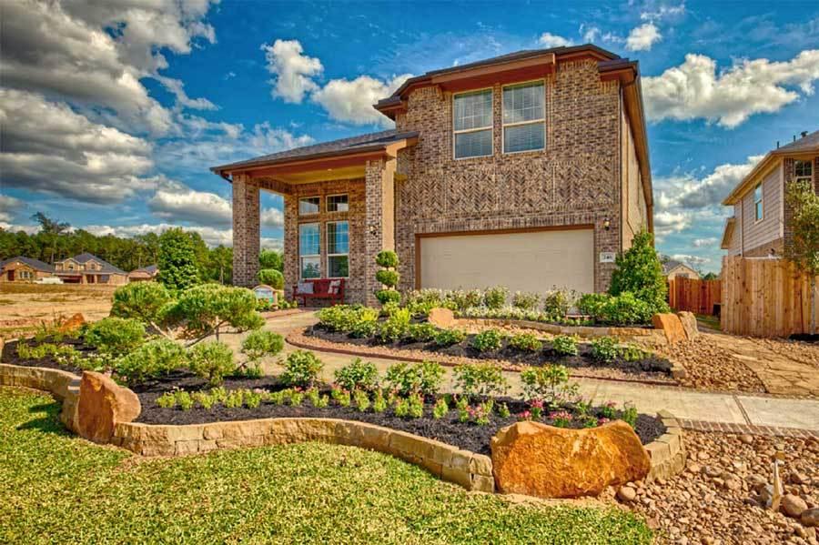 Unifamiliar por un Venta en Bay View - Liberty Plan 2899 Flower Creek Lane, League City Dickinson, Texas 77539 United States