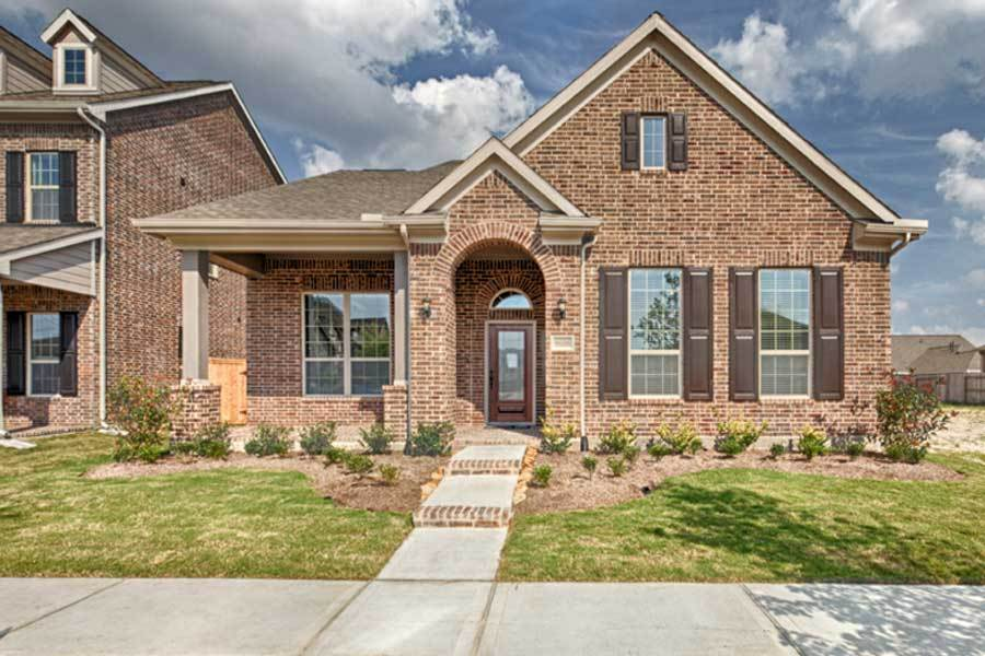 Jasmine Plan Towne Lake - Front Porch Collection in Cypress on cream home, mint home, cypress home, victoria home, lucy home,