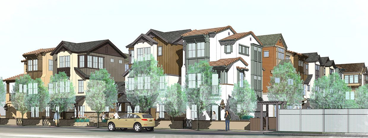 Single Family for Sale at Classics At Midtown Place - Plan D 106 Tilton Avenue San Mateo, California 94401 United States