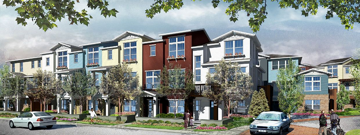 Additional photo for property listing at Classics At Permanente Creek - Plan A 647 Sierra Vista Avenue Mountain View, California 94043 United States