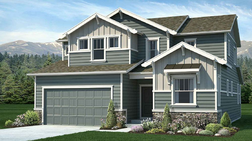 Single Family for Active at Flying Horse - Hannah 2015 Walnut Creek Court Colorado Springs, Colorado 80921 United States