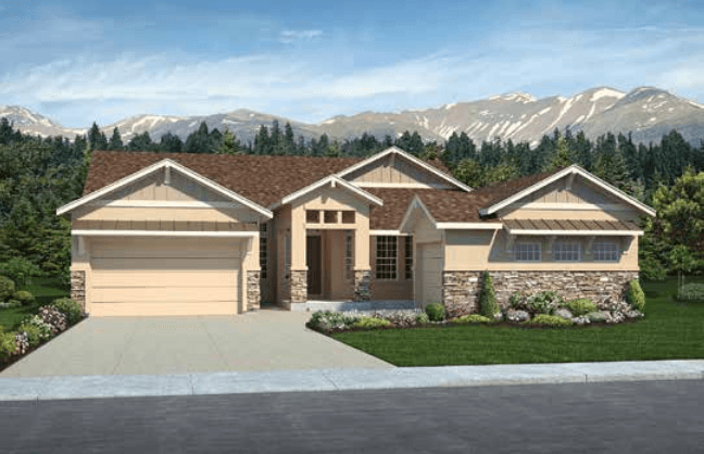 Single Family for Active at Sanctuary Pointe - Infinity 1654 Summerglow Lane Monument, Colorado 80132 United States