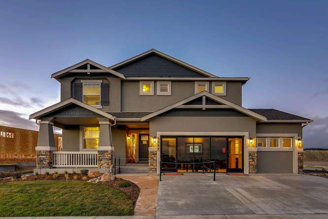 Wolf ranch new homes in colorado springs co by classic homes for New classic homes