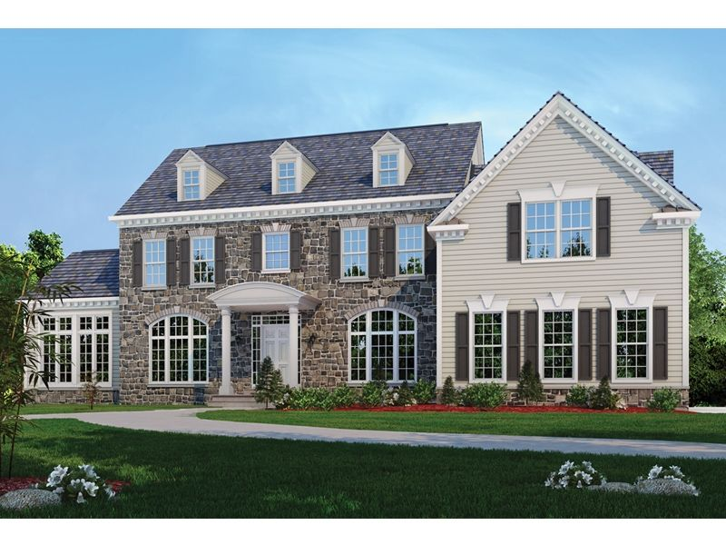 Single Family for Sale at Classic Homes Of Maryland - Custom Home Builder (Bethesda) - The Hampton Bethesda, Maryland 20817 United States