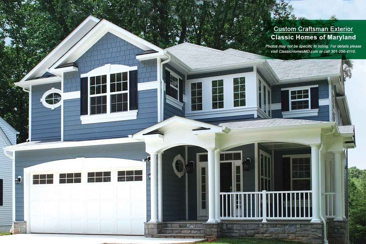 Classic homes of maryland custom build on your lot for Md home builders