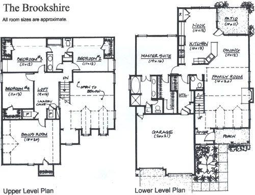 Brookshire floor plan by concept builders tulsa ok for Tulsa home builders floor plans