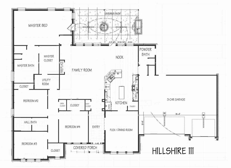 Hillshire Iii Floor Plan Concept Builders Tulsa Ok