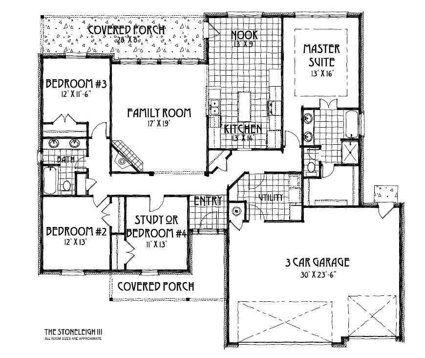 Concept Builders Stoneleigh Iii Tulsa Home Builders