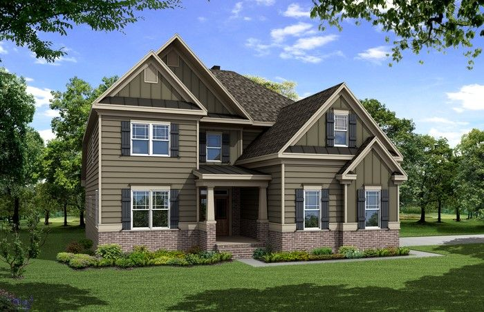 Single Family for Sale at Sterling On The Lake - The Madison 6706 Birch Bark Way Flowery Branch, Georgia 30542 United States