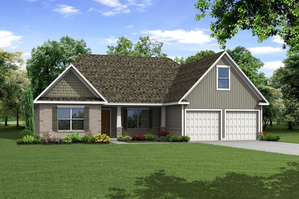 Single Family for Sale at Riverbend At Bear Creek - The Kimberly 47 Riverbend Lane Bogart, Georgia 30622 United States
