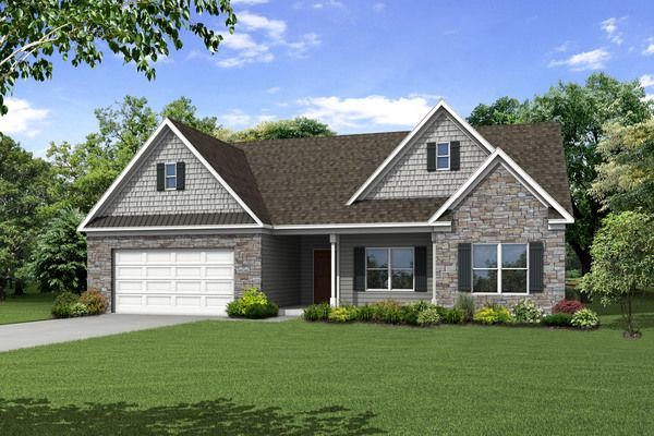 Single Family for Sale at Riverbend At Bear Creek - The Sinclair 47 Riverbend Lane Bogart, Georgia 30622 United States