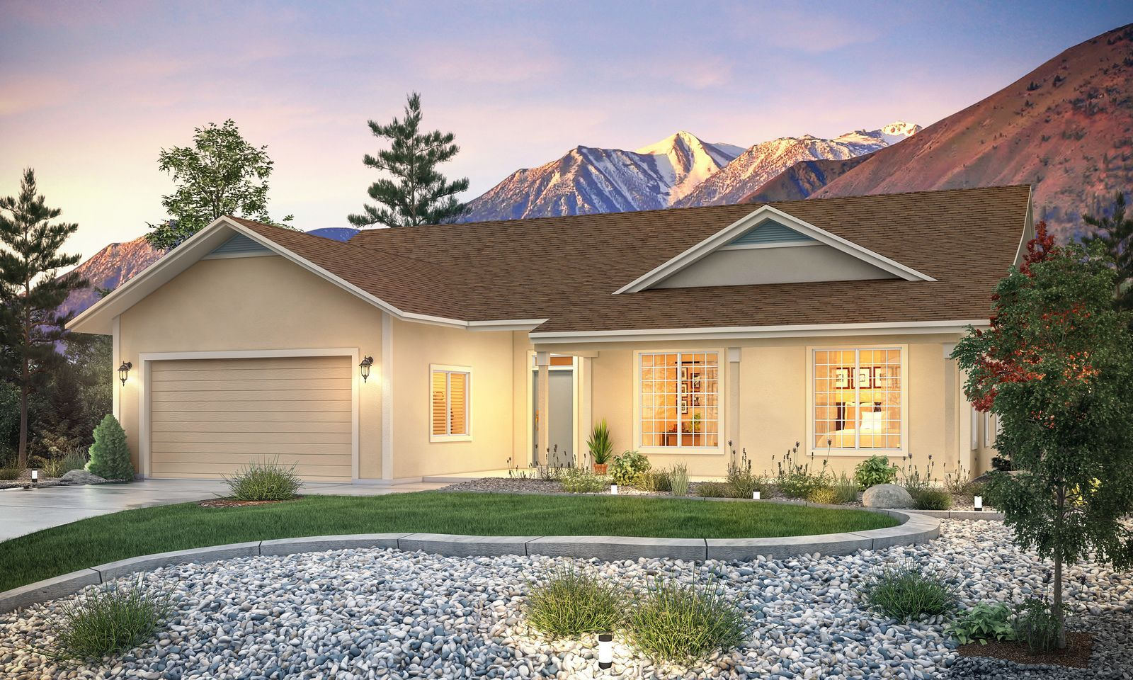Single Family for Active at Cottages At Carson Valley By Carter Hill - Residence 1 - 1750 Plan 1227 West Cottage Loop Gardnerville, Nevada 89460 United States