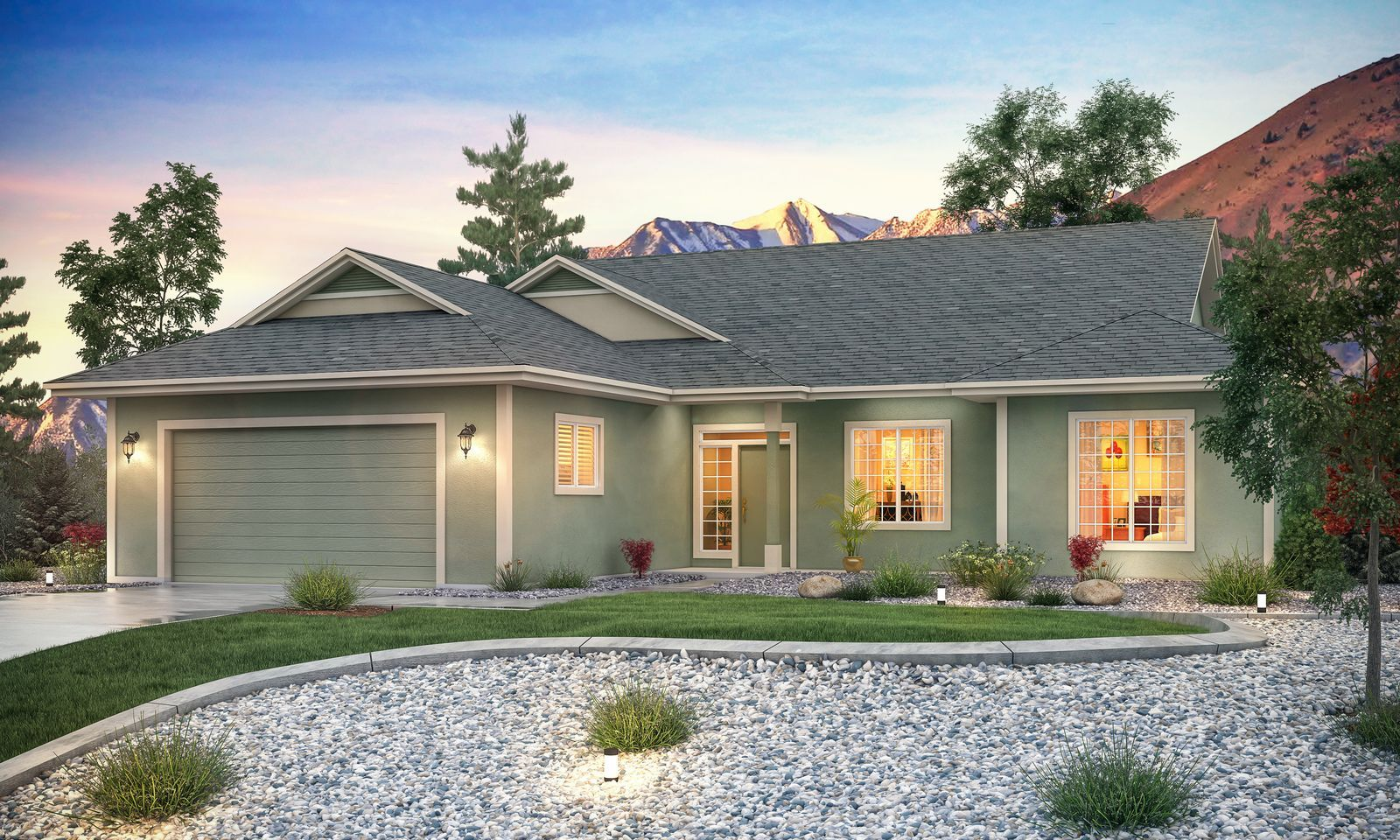 Single Family for Active at Cottages At Carson Valley By Carter Hill - Residence 2 - 1950 Plan 1227 West Cottage Loop Gardnerville, Nevada 89460 United States