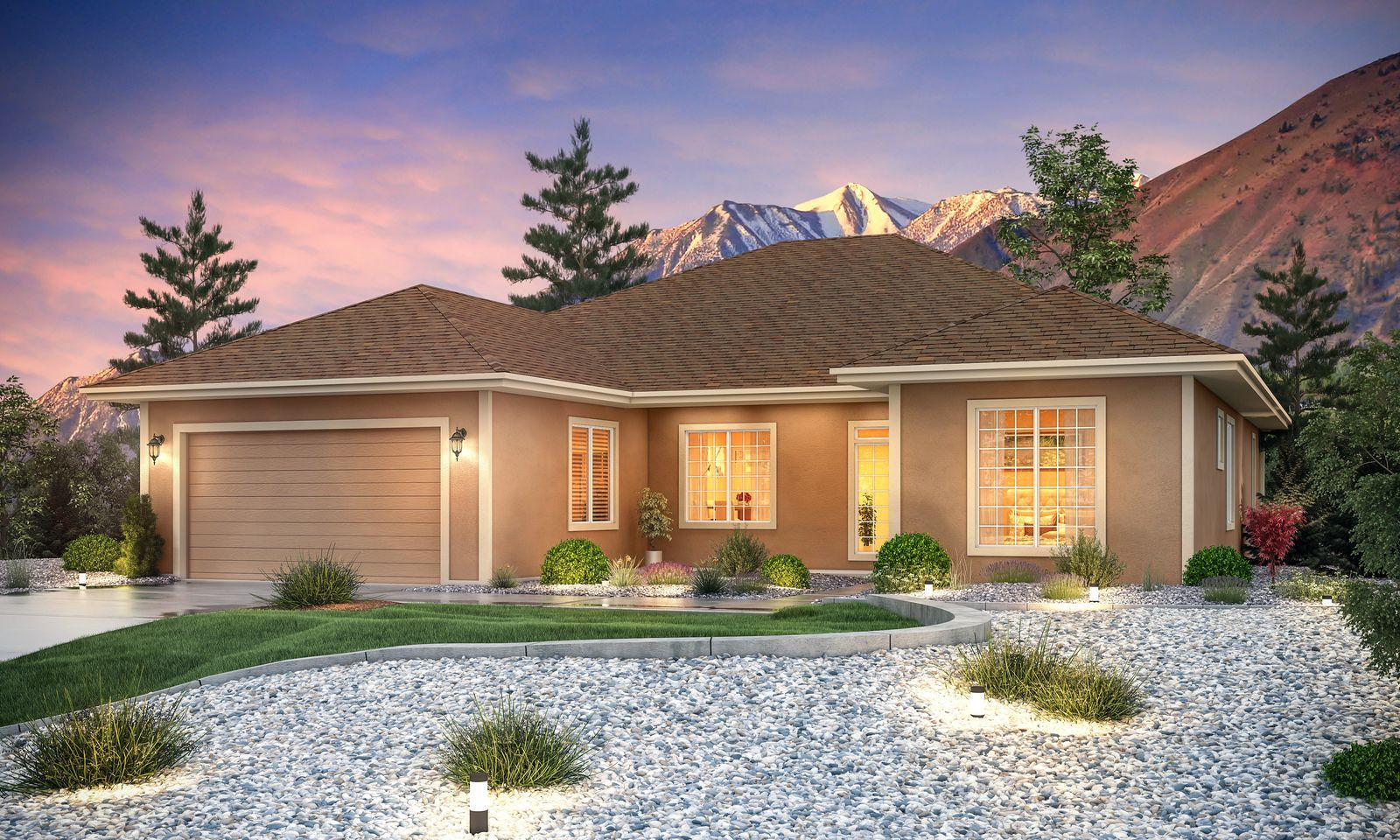 Single Family for Active at Cottages At Carson Valley By Carter Hill - Residence 3 - 2150 Plan 1227 West Cottage Loop Gardnerville, Nevada 89460 United States