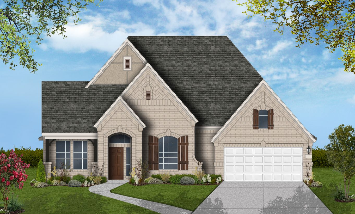 单亲家庭 为 销售 在 Avalon At Spring Green 75' - Design 6876 2702 Cranbrook Terrace Katy, Texas 77494 United States