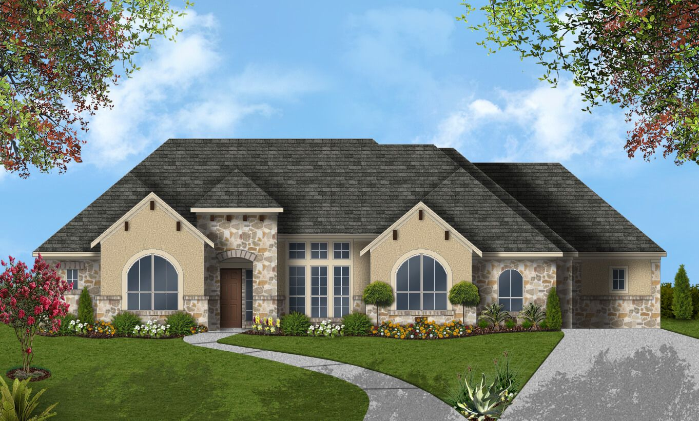 Single Family for Sale at Double Eagle Ranch - Design 3002 104 Flycatcher Cv Cedar Creek, Texas 78612 United States