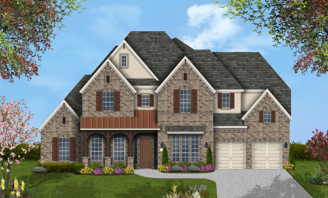 Single Family for Active at Pomona 75' - Design 7800 4722 Orchard Creek Ln Manvel, Texas 77578 United States