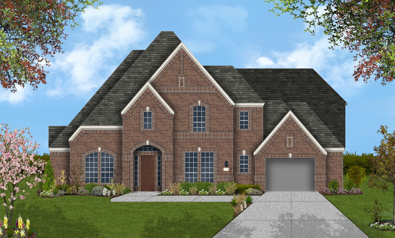 Single Family for Active at Pomona 75' - Design 7802 4722 Orchard Creek Ln Manvel, Texas 77578 United States