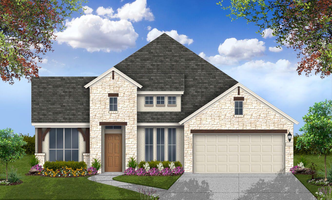 Single Family for Sale at Coronado - Design 2539 23325 Emerald Pass San Antonio, Texas 78258 United States