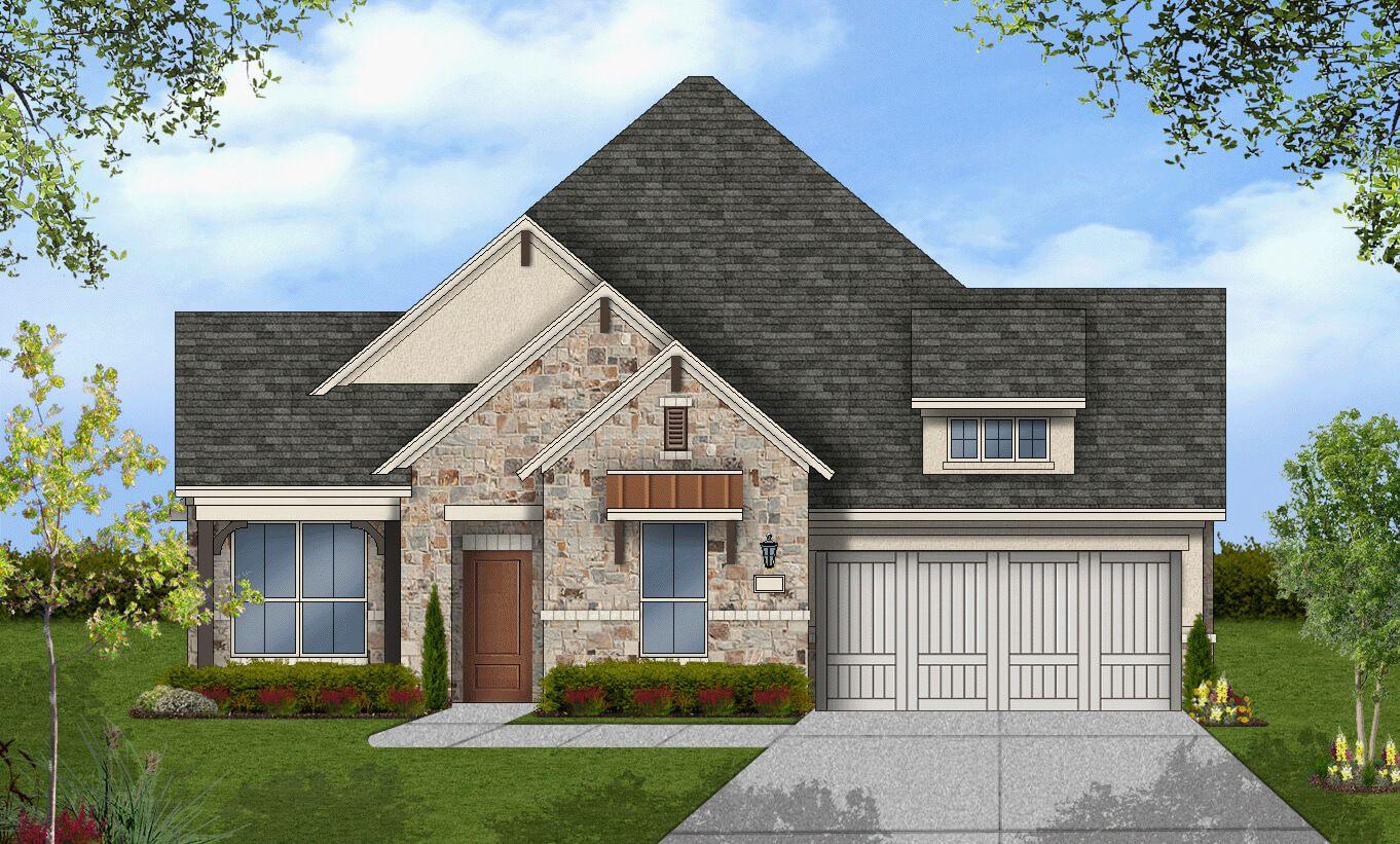 Single Family for Sale at Coronado - Design 2436 23325 Emerald Pass San Antonio, Texas 78258 United States