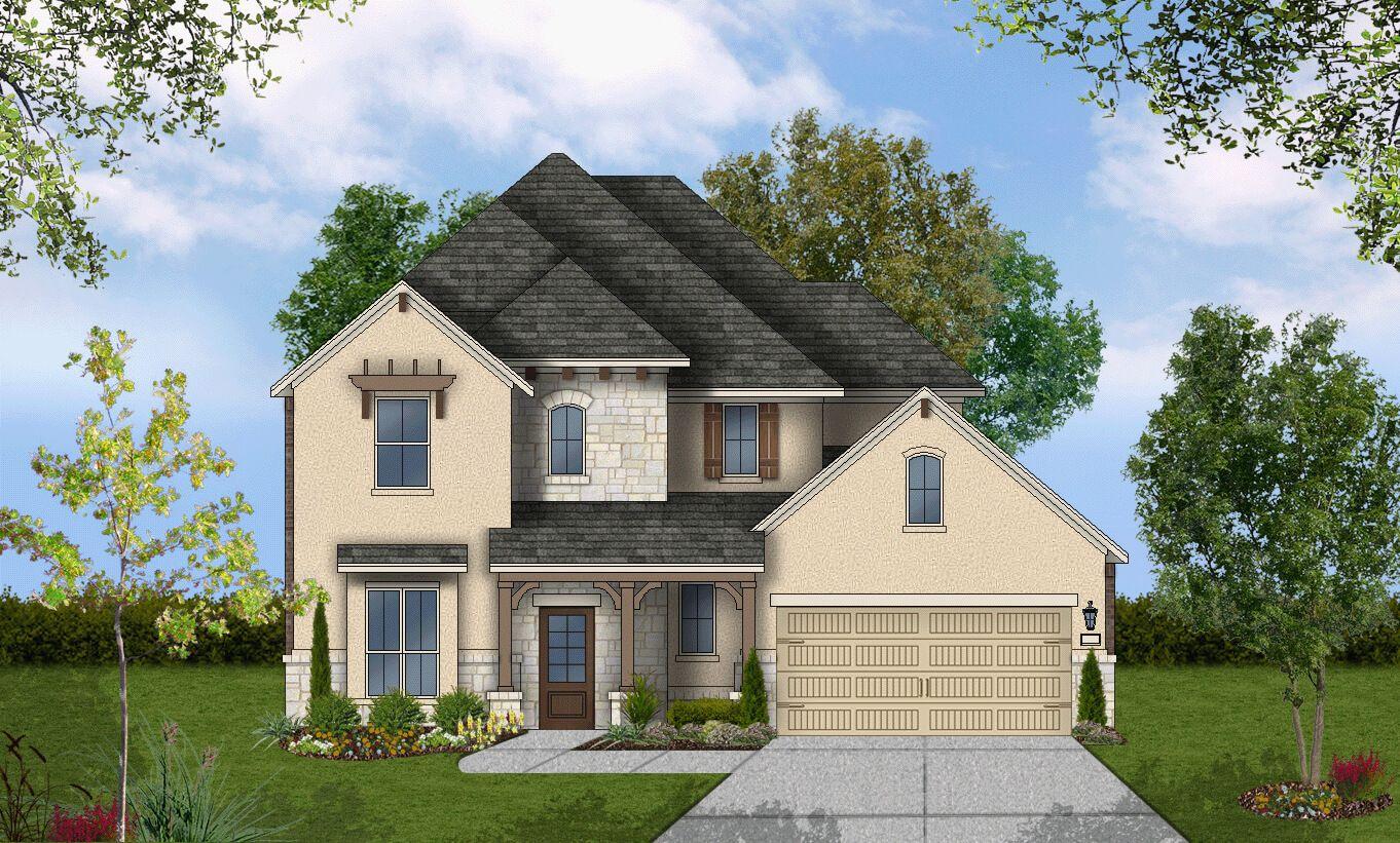 Single Family for Sale at Coronado - Design 3298 23325 Emerald Pass San Antonio, Texas 78258 United States