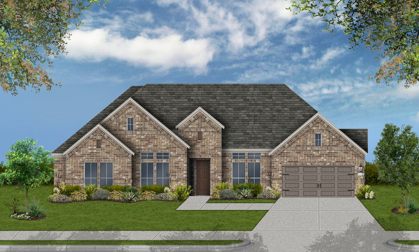 Single Family for Active at Rutherford West - Design 3111 2702 Nature View Lp Driftwood, Texas 78619 United States