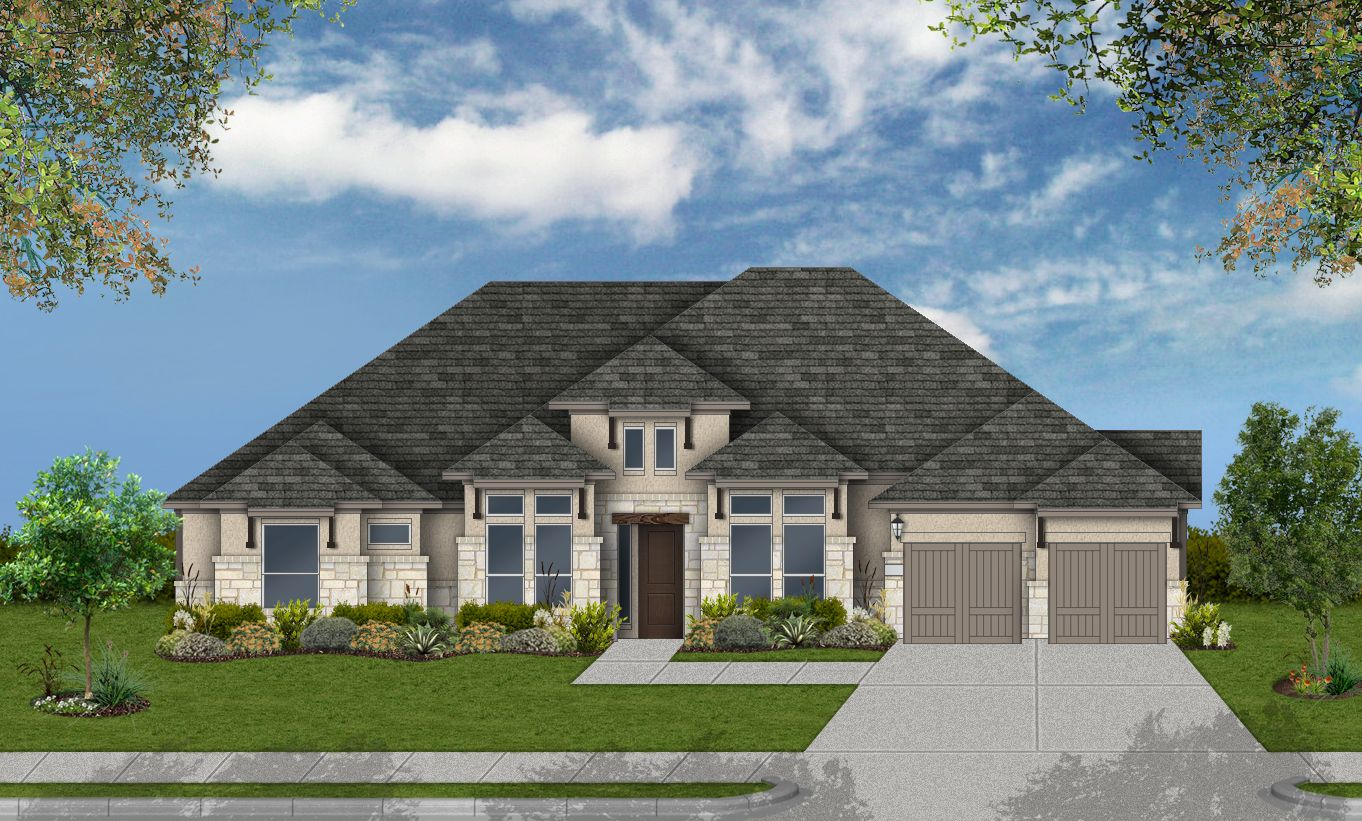 Single Family for Active at Design 3111 100 Ocate Mesa Trail Liberty Hill, Texas 78642 United States