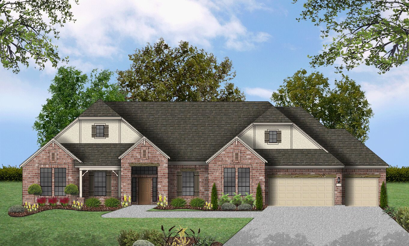 Single Family for Active at Rutherford West - Design E019 2702 Nature View Lp Driftwood, Texas 78619 United States