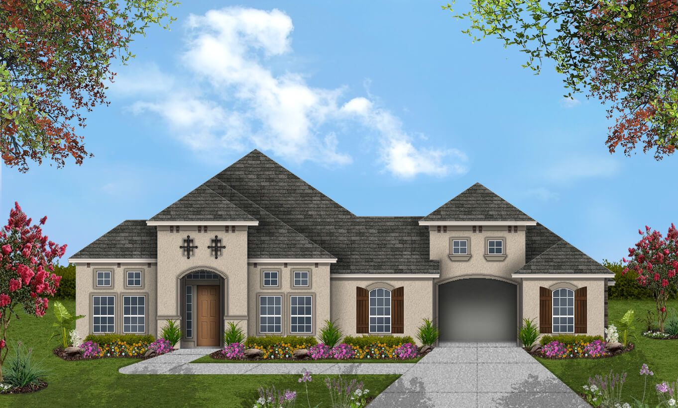 Single Family for Active at Pomona 75' - Design 8316 4602 Orchard Creek Ln Manvel, Texas 77578 United States