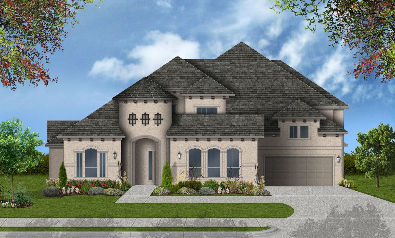 Single Family for Active at Pomona 75' - Design 8333 4602 Orchard Creek Ln Manvel, Texas 77578 United States