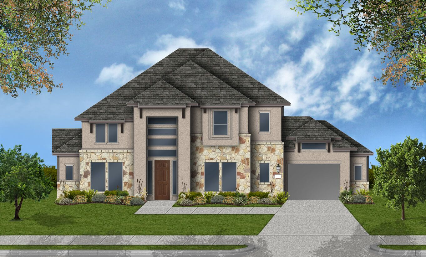Single Family for Active at Pomona 75' - Design 7804 4602 Orchard Creek Ln Manvel, Texas 77578 United States