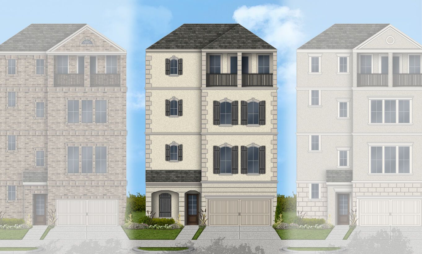 Single Family for Active at Somerset Green - Lisbon 3709 Somerset Green Drive Houston, Texas 77055 United States