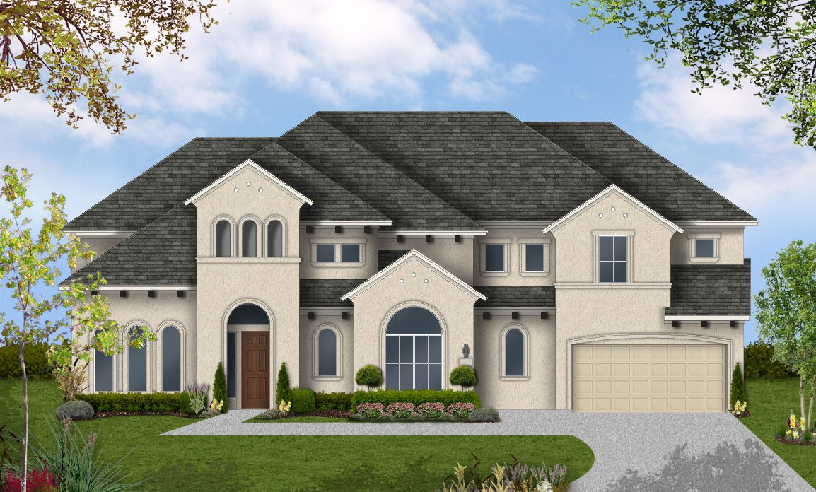 Single Family for Active at Pomona 75' - Design 8310 4602 Orchard Creek Ln Manvel, Texas 77578 United States