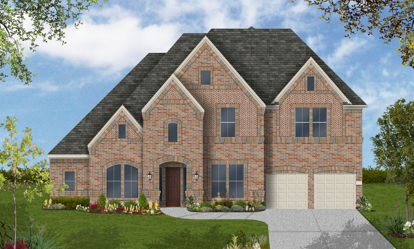 Single Family for Active at Pomona 75' - Design 7799 4602 Orchard Creek Ln Manvel, Texas 77578 United States