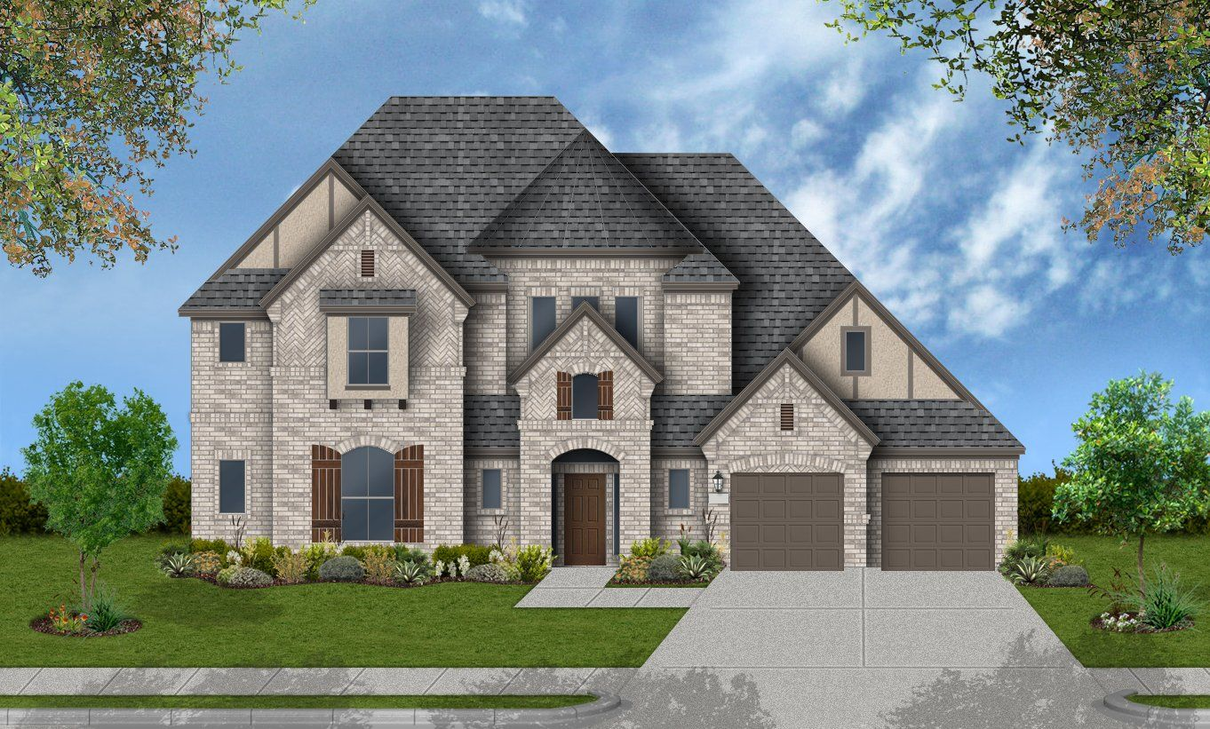 Single Family for Active at Pomona 75' - Design 7317 4602 Orchard Creek Ln Manvel, Texas 77578 United States