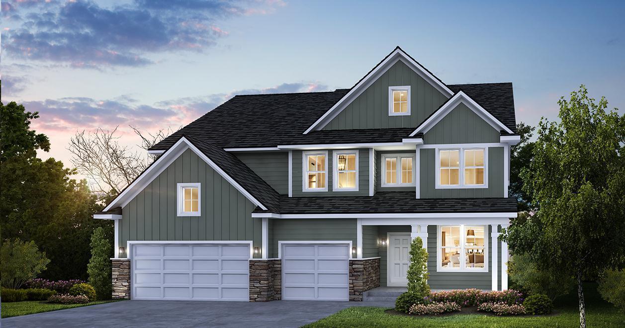 单亲家庭 为 销售 在 Adelaide Landing - Augustine 5562 130th Way N. Hugo, Minnesota 55038 United States
