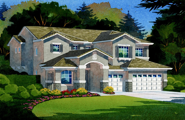 Single Family for Sale at Cresleigh Peaks - Signature - Everest 2737 Satori Way Yuba City, California 95993 United States