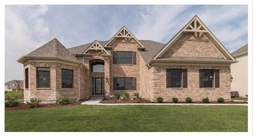 Single Family for Sale at The Cambridge By Overstreet Custom Homes 3689 Bellamere Lane Elgin, Illinois 60124 United States