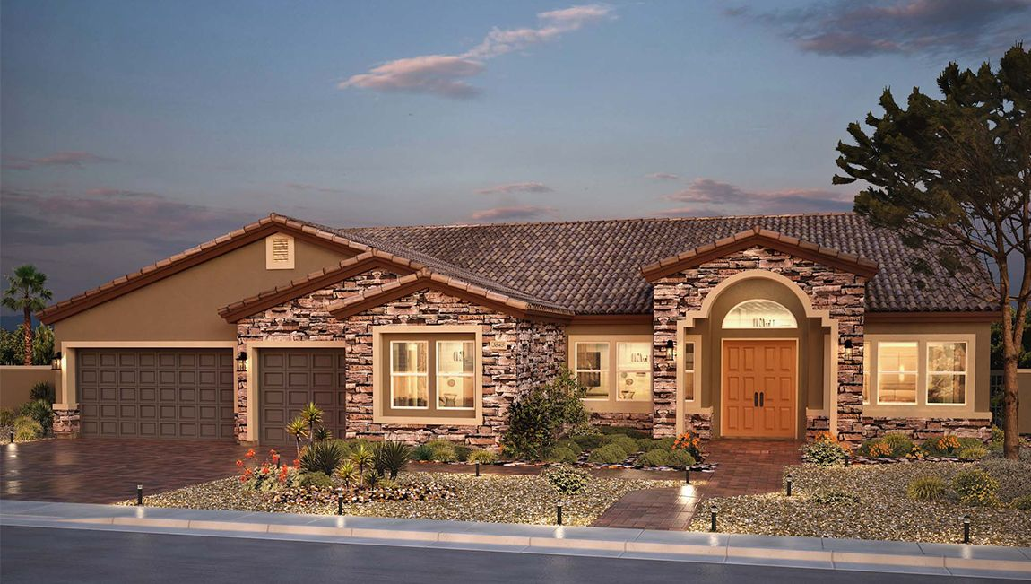 Single Family for Sale at Foothills Estates - 3845 Plan 1085 College Heights Court Henderson, Nevada 89002 United States