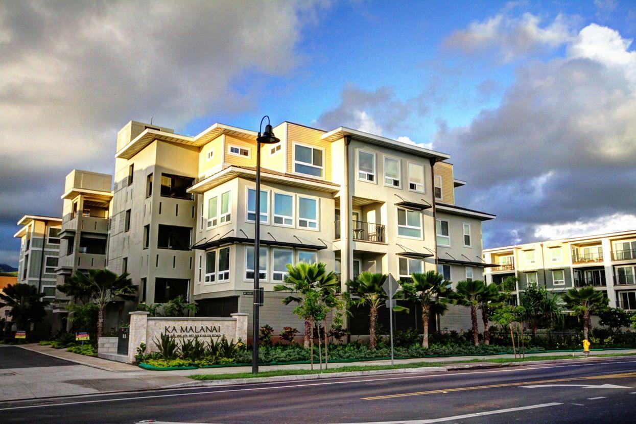 Multi Family for Sale at Ka Malanai - Type B1 497 Kailua Road Kailua, Hawaii 96734 United States