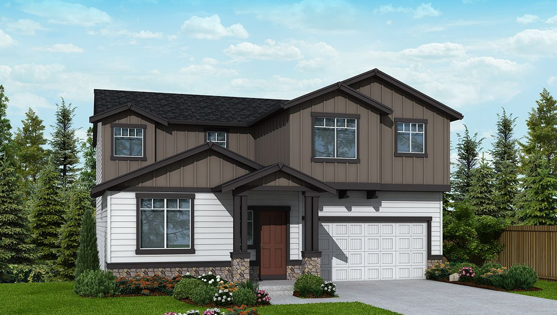 Single Family for Sale at Rock Creek Meadows - Cascade 3725 17249 Se Blackburn Street Happy Valley, Oregon 97086 United States
