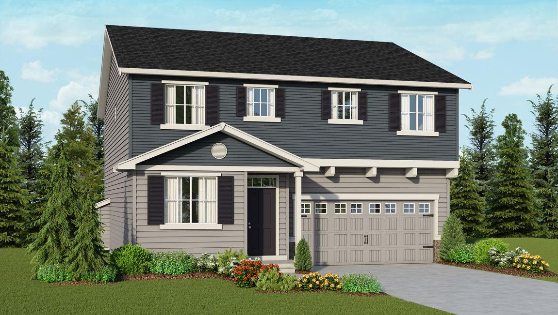 Single Family for Sale at Vista Village - Wellington 3720 9822 201st Street E. Graham, Washington 98338 United States
