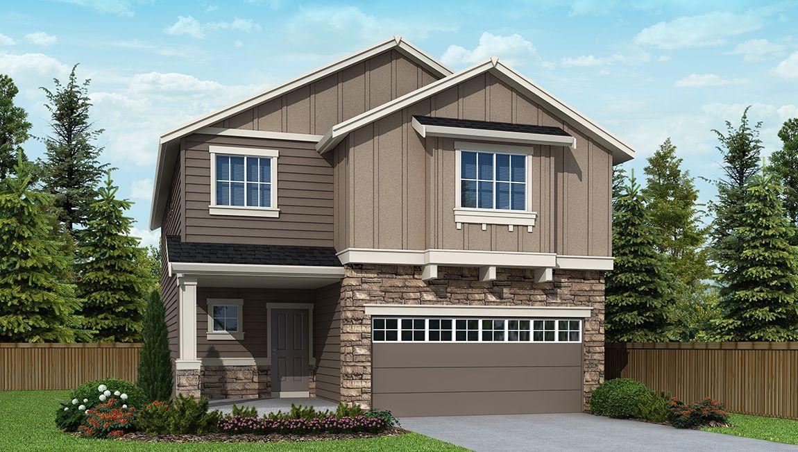 Single Family for Sale at Cedar Ridge - Cambridge B724 10602 Nw Glenmore Way Portland, Oregon 97229 United States
